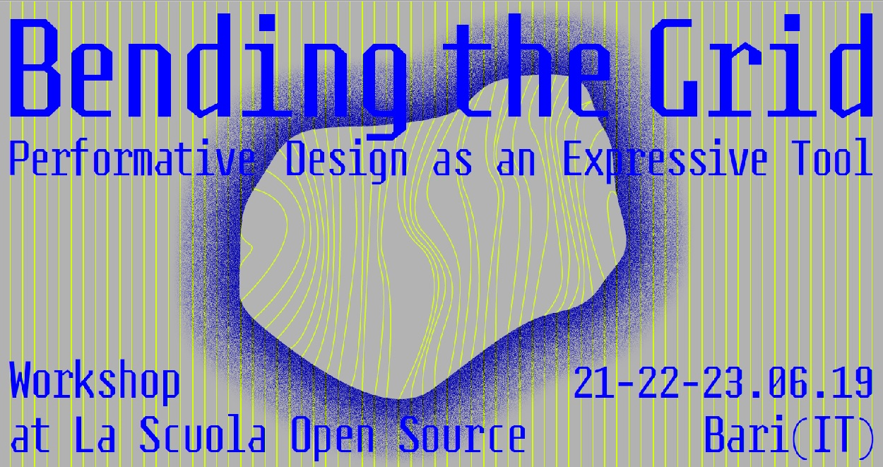 Bending the Grid: Performative Design as an Expressive Tool