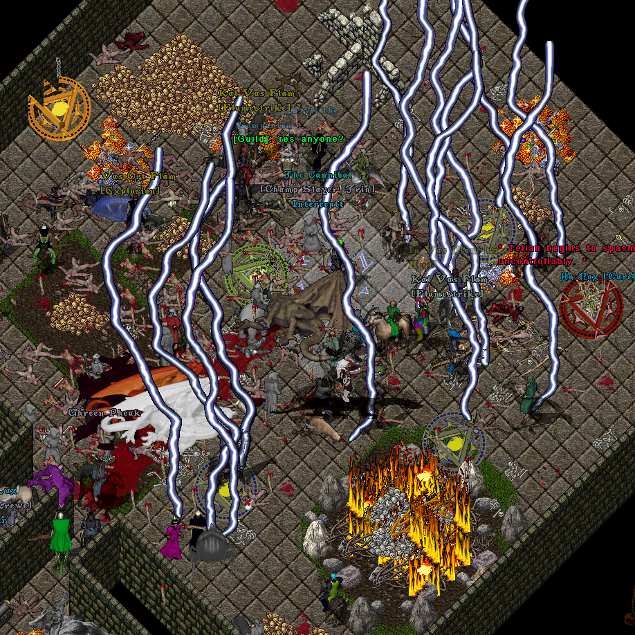 Learning code with games: ultima online