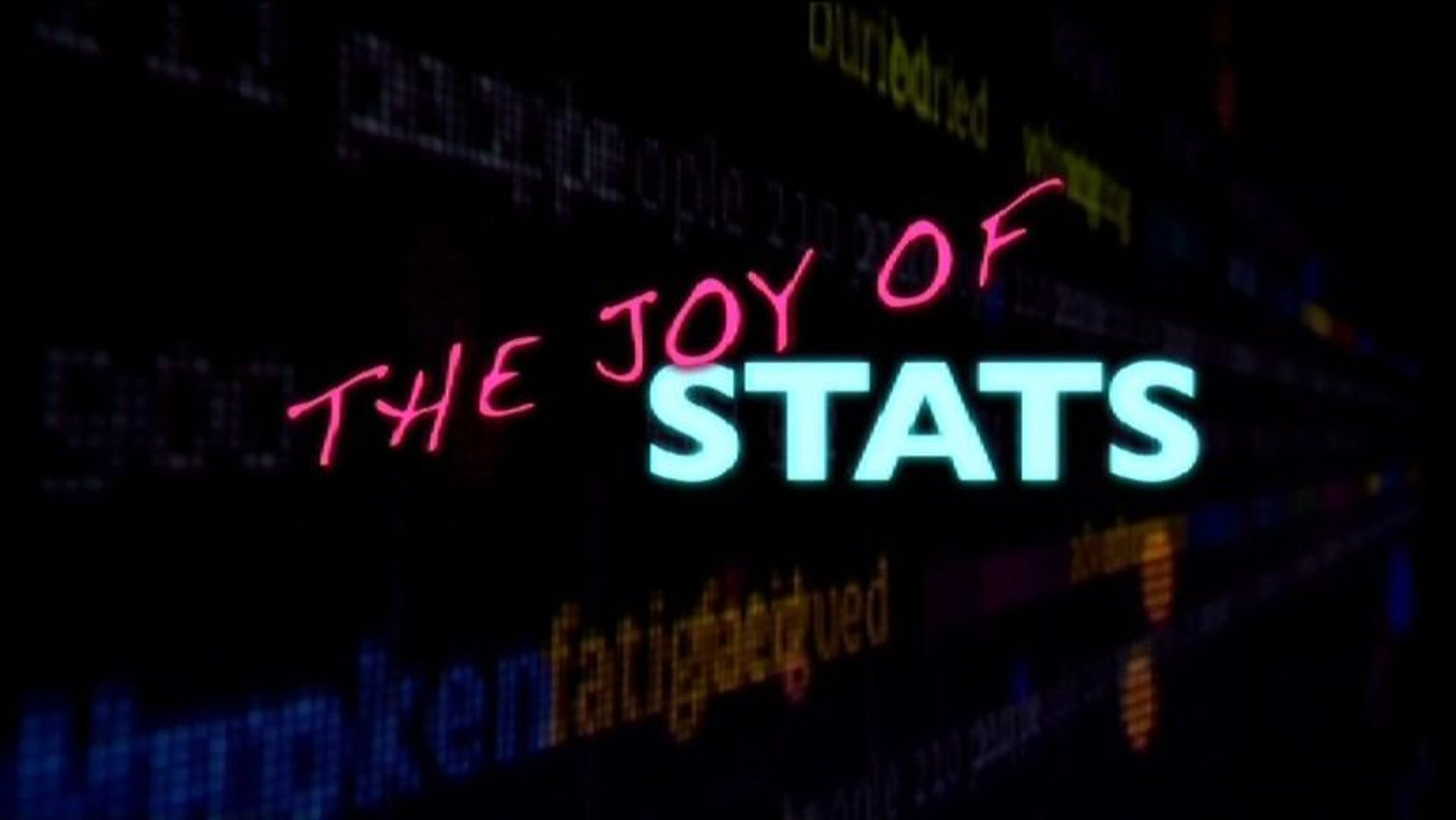 FreeDoc #1 — The joy of stats